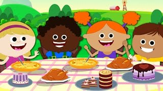 Download Thanksgiving Song | Let's Give Thanks | Nursery Rhymes | Children Song | Kids Rhymes | Original Song Video