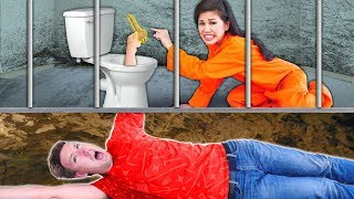 Download WE ESCAPE PRISON via Underground Tunnel! Vy & Hacker Girl PZ4 are Trapped by Project Zorgo Video