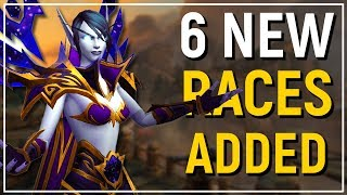 Download 6 NEW PLAYABLE RACES! WoW: Battle for Azeroth ″Allied Races″ Preview! Video