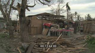 Download Super Typhoon Megi Hits Philippines As Cat. 5 Stock Footage Screener - 1920x1080 30p Video