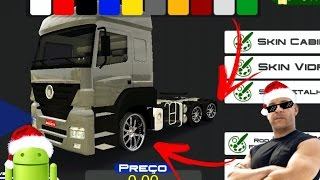 Download Como colocar SKINS na roda pelo ANDROID - HEAVY TRUCK SIMULATOR Video
