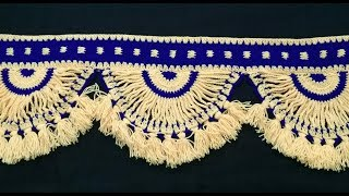 Download Crochet Toran   Toran Designs  Vinkam   Wool Toran   Woolen Door Hanging   Lokar Toran   Toran Ideas Video