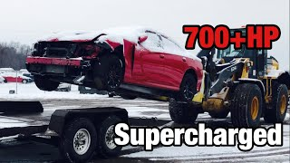Download Rebuilding a Wrecked 2016 Dodge Hellcat Video