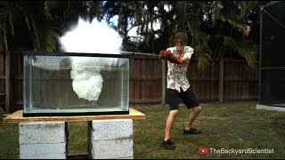 Download Pouring Molten salt into Water - Explosion! Video