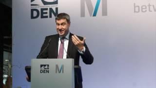 Download Dr. Markus Söder: Rede beim Flughafenempfang 25 Jahre Sister-Airports München-Denver Video