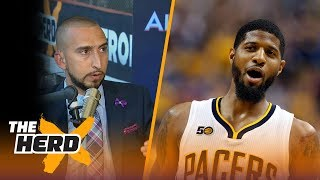 Download Paul George staying in OKC? Lonzo Ball sits out - Nick Wright and Cris Carter react | THE HERD Video