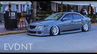 Download How to Stunt on South Beach   Bagged CL7 Acura TSX style   Music Video Video