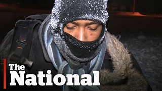 Download Shivering Refugee Discovered Crossing into Canada Video