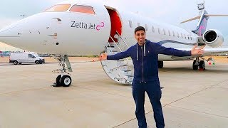 Download Private Jet with a BILLIONAIRE !!! Video