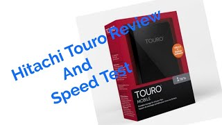 Download Hitachi Touro Mobile MX3 1TB Full Review and speed test Video
