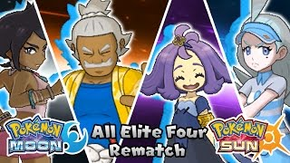 Download Pokemon Sun & Moon - All Elite Four Rematch Battle (HQ) Video