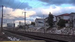 Download 東北本線 白河駅南側 ・・踏切 カシオペア返却回送通過 2018.01.01 Video