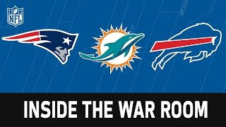 Download Draft War Rooms of the Patriots, Bills and Dolphins | NFL Network | Path to the Draft Video