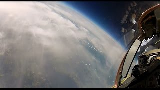 Download MiG-29 High Altitude Stratosphere Flight - long version 8 camera HD | flight data Video