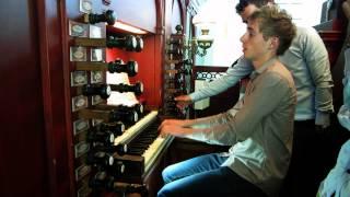 Download J.S. Bach -Toccata & Fugue in D-minor - Stephanuskerk Hasselt Video