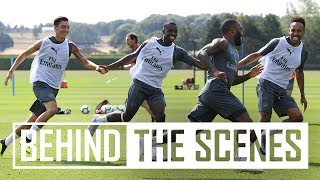Download Great vibes at training! | Exclusive behind the scenes Video
