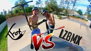 Download TANNER FOX VS MAVERICK LEONARD GAME OF SCOOT AT ADAM LZ HOUSE !!! Video