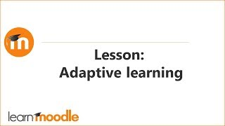 Download Lesson: Adaptive learning Video