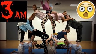 Download DON'T DO ACRO GYMNASTICS AT 3AM! Video