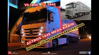 Download ACTROS MP3 1848 V6 İNCELEME / MP4 1845 KARŞILAŞTIRMA Video