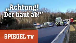 Download ″Achtung, der haut ab!″: Polizeieinsatz an der deutsch-polnischen Grenze Video
