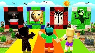 Download Minecraft - DO NOT Choose the Wrong Dimension - BALDI, SLENDERMAN & GRANNY! Video