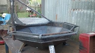 Download Fire pit / grill build Video