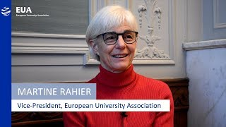 Download Martine Rahier, Vice-President of the EUA – Women in Higher Education Video