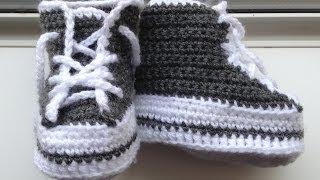 Download Mẫu móc giày cao cổ cho các bé yêu Video