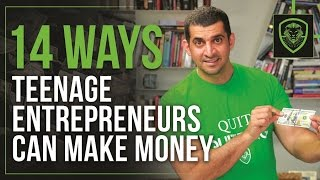 Download 14 Ways Teenage Entrepreneurs Can Make Money Video