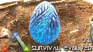 Download ARK: SURVIVAL EVOLVED - WYVERN EGG A THIEVES LUCKY START !!! E01 (MODDED ARK PUGNACIA DINOS) Video