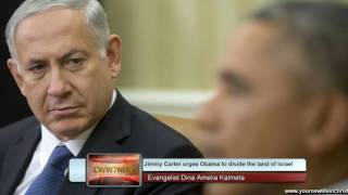 Download Divide the land of Israel? Jimmy Carter urging Obama to move forward before 1/20 Video