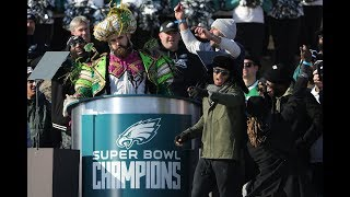 Download Eagles Super Bowl Parade Speeches Video