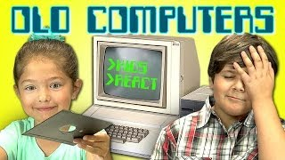 Download KIDS REACT TO OLD COMPUTERS Video