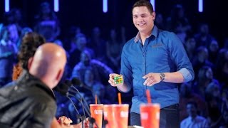 Download BEST Magic Show in the world - Genius Rubik's Cube Magician America's Got Talent Video