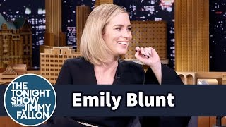 Download Emily Blunt's Kids Are Picking Up Their Dad's American Accent Video