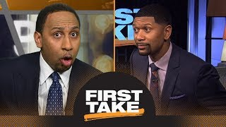 Download Stephen A. and Jalen Rose get heated over Anthony Davis and Boogie Cousins | First Take | ESPN Video