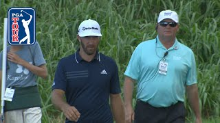Download Dustin Johnson nearly holes it from 430 yards at Sentry Video
