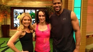 Download Kelly and Michael's Fitness Challenge - CrossFit Workout - ″LIVE with Kelly and Michael″ Video