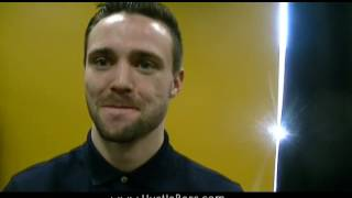 Download Undefeted Josh Taylor with Team Frampton in Las Vegas Video