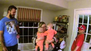 Download Best Twin Baby Surprise for Grandma - Meets Grandbabies for the first time! Priceless Surprise! Video