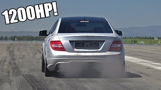 Download 1200HP GAD Motors Mercedes-Benz C63 AMG - FASTEST in EUROPE! Video