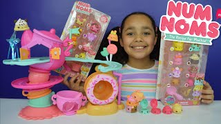 Download Num Noms Go Go Cafe playset | Party Pack - Cupcake - Ice cream | Blind Boxes Video