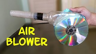 Download How to Make a Powerful Air Blower using CD and Bottle - Easy Way Video