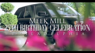Download Meek Mill 25th Birthday Celebration in Philadelphia (Gets 2012 Range Rover from Rick Ross) Video