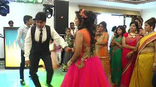 Download Best Brother dance on Mere Pyari Behaniya Banegi Dulhaniya - Sister's engagement Video