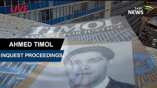 Download Ahmed Timol Inquest, 28 July 2017 Day 10 Video