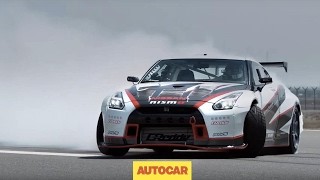 Download DRIFTED | The world's fastest drift car | 1400bhp, 190mph Nissan GT-R | Autocar Video