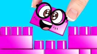 Download Building a Lego House Pencil Holder for Slime Sam - School Supplies Done With Fun Video