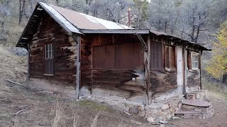Download CREEPY ABANDONED CABIN IN THE WOODS EXPLORED | Urban Exploring An Abandoned Creepy Nevada House Video